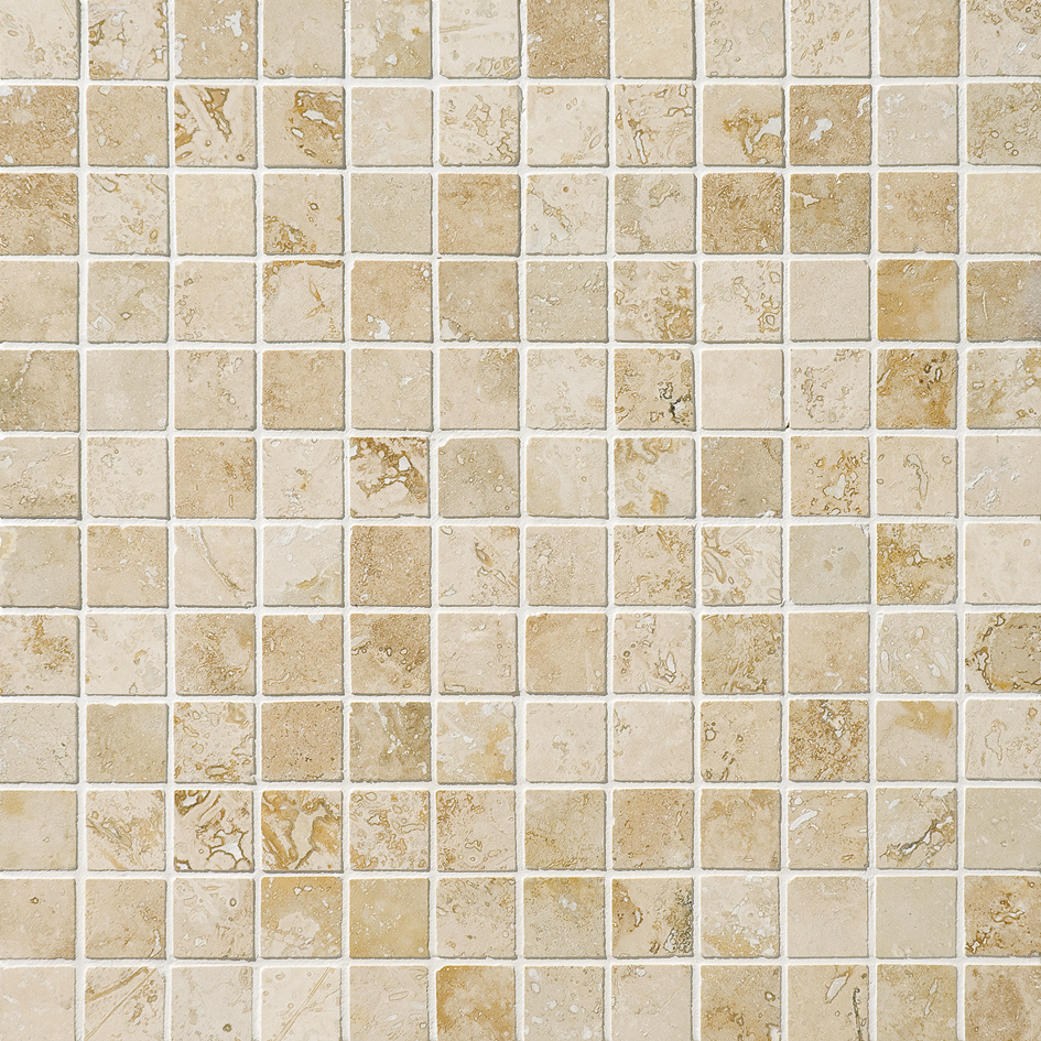 """MS00839 canyon honed & filled 1""""x1"""" 12""""x12""""x3/8"""" sheets"""