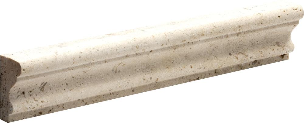 "ML00067 ivory honed andorra molding 2""x12""x1"""