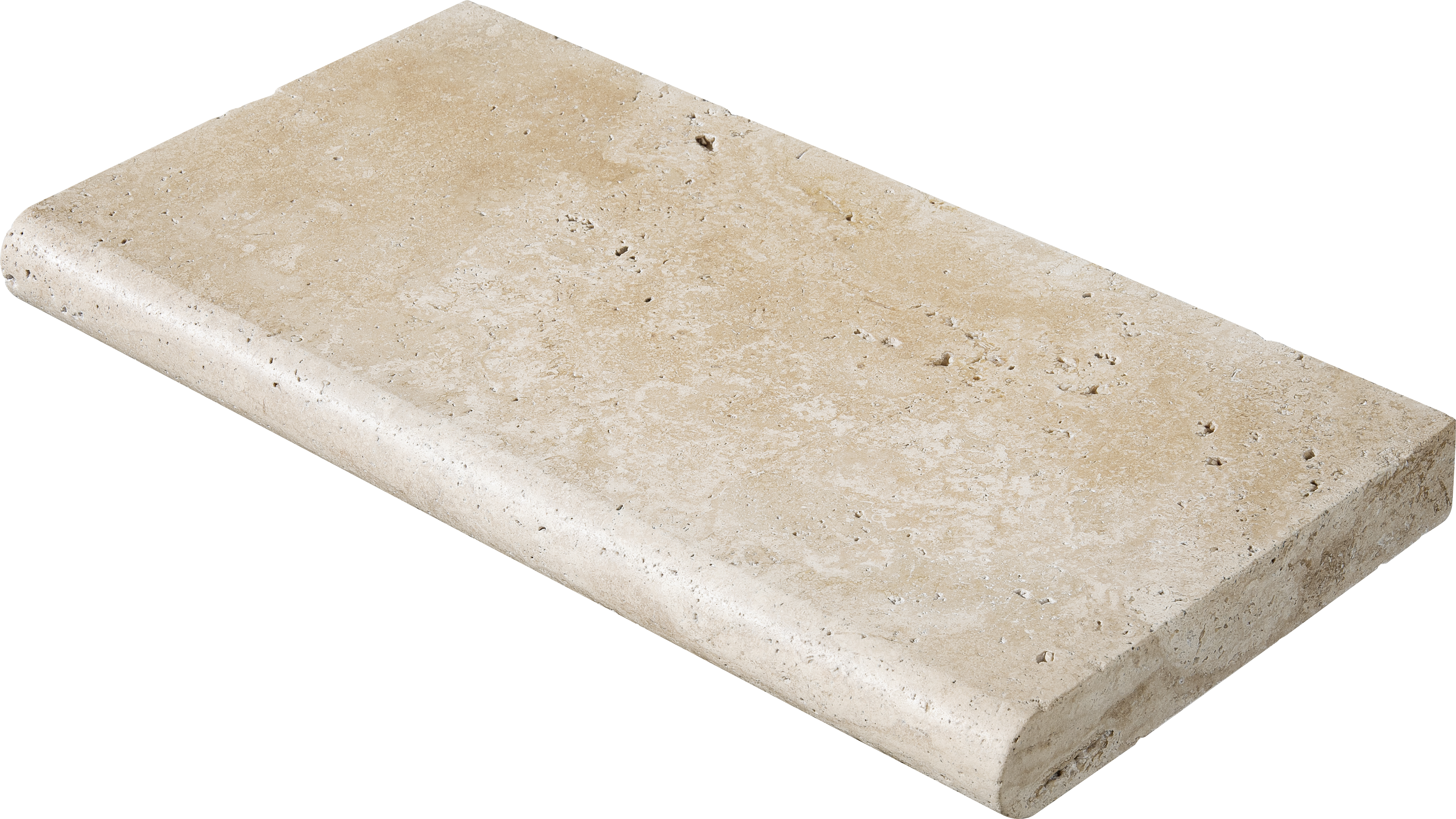 "SP00832 ivory tumbled pool coping 12""x24""x2"""