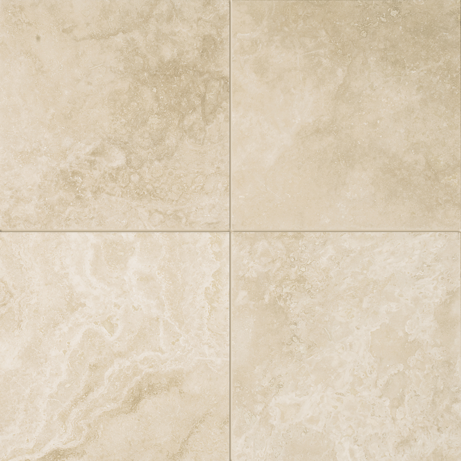 Ivory Honed and Filled Field Tile