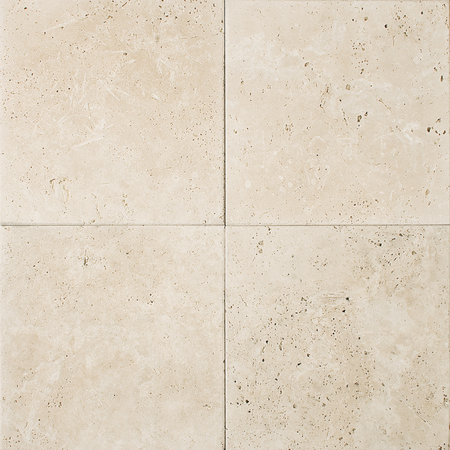 Ivory Antiqued Travertine Field Tile