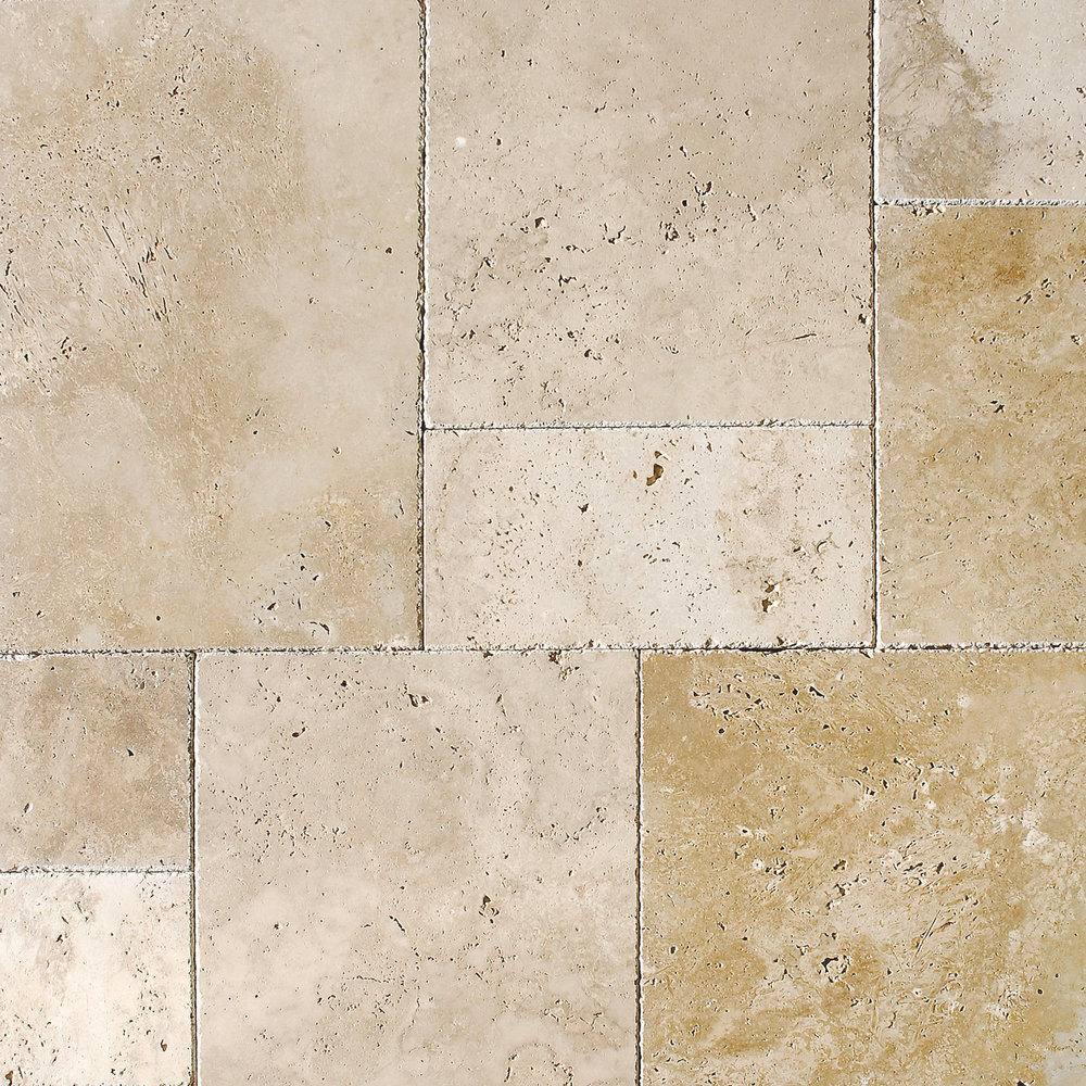 Ivory Classic Blend Field Tile