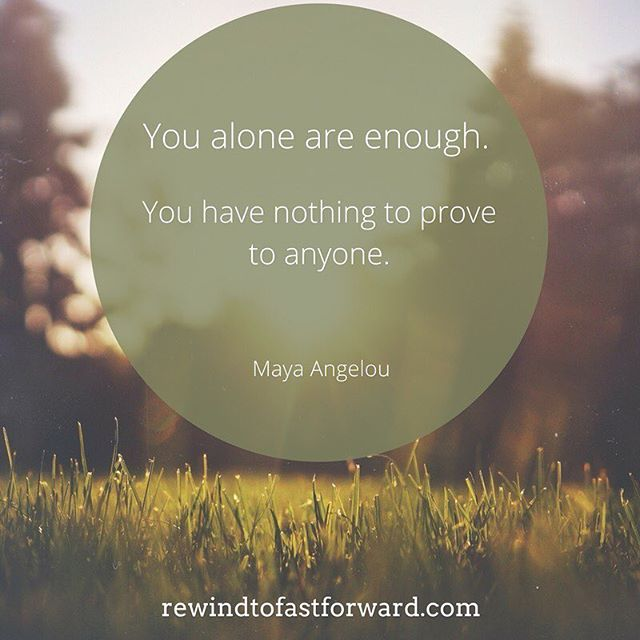 You don't have to prove your worth as a human being - remember who you are at your core!⠀ .⠀ .⠀ .⠀ #youareenough #courage #healing #survivor