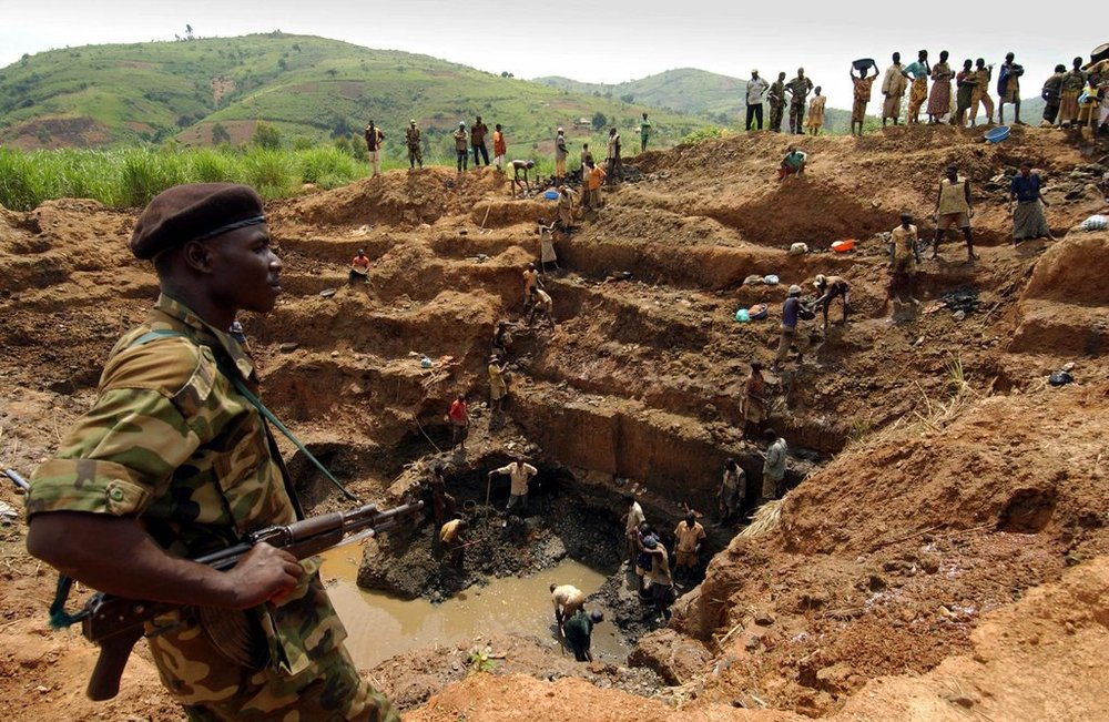 """Although the Kimberly Process aims to reduce the supply of blood diamonds, """"conflict free""""diamonds still might originate from mines tainted by injustice, due to an opaque diamond supply chain, frequent diamond smuggling, and the narrow, incomplete protocol of the Kimberly Process."""