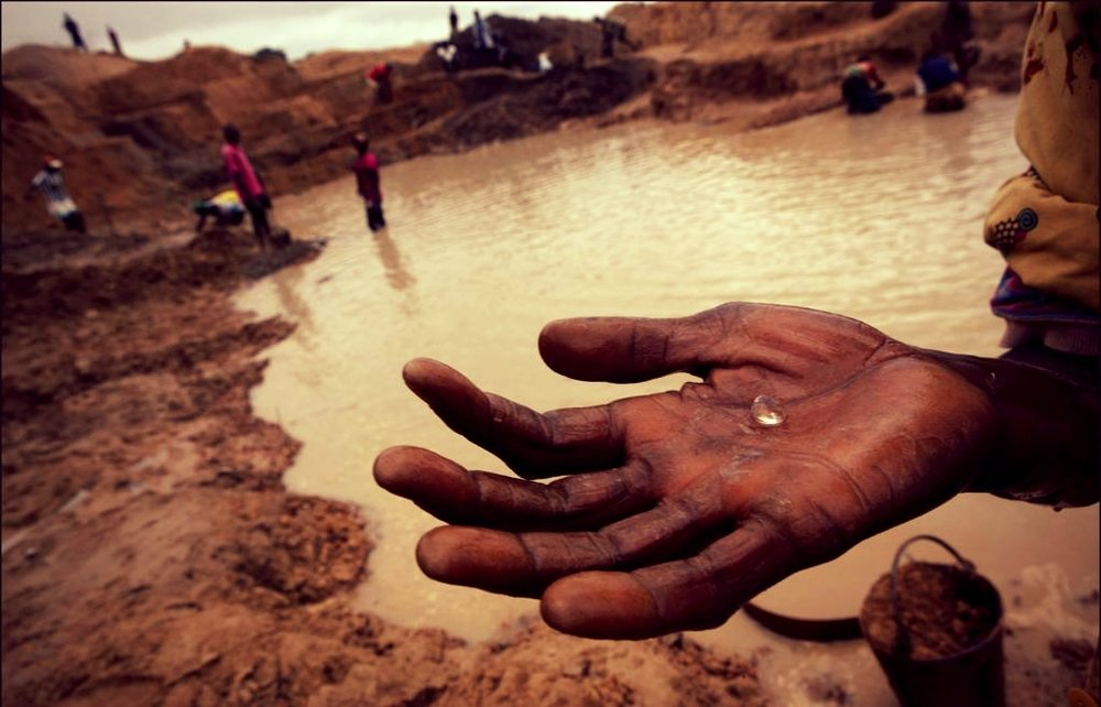 Millions continue to be exploited, injured, or murdered through the mined diamond trade.
