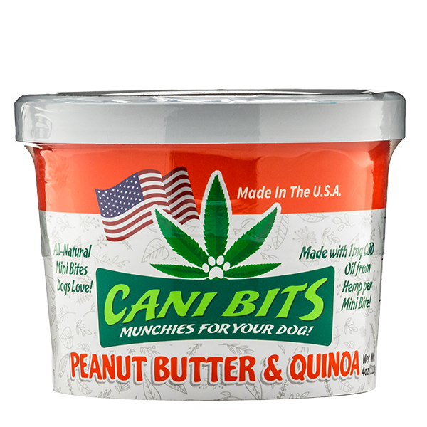 Peanut Butter & Quinoa Cani Bits