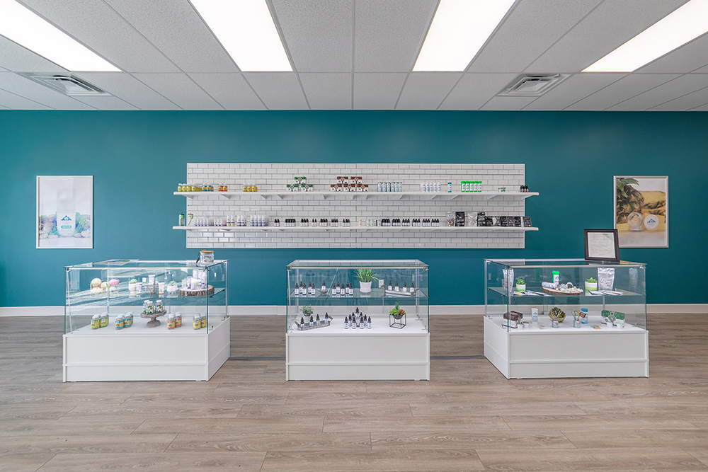 5101 SE 29th St. CBD Plus USA Store Interior