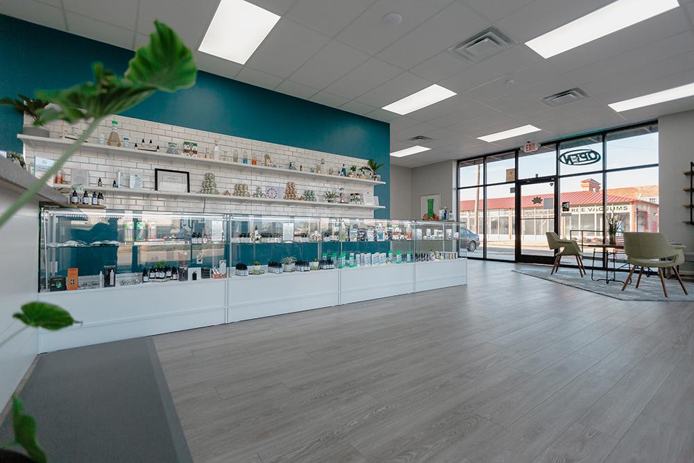 2723 N. Classen Blvd. CBD Plus USA Store Interior