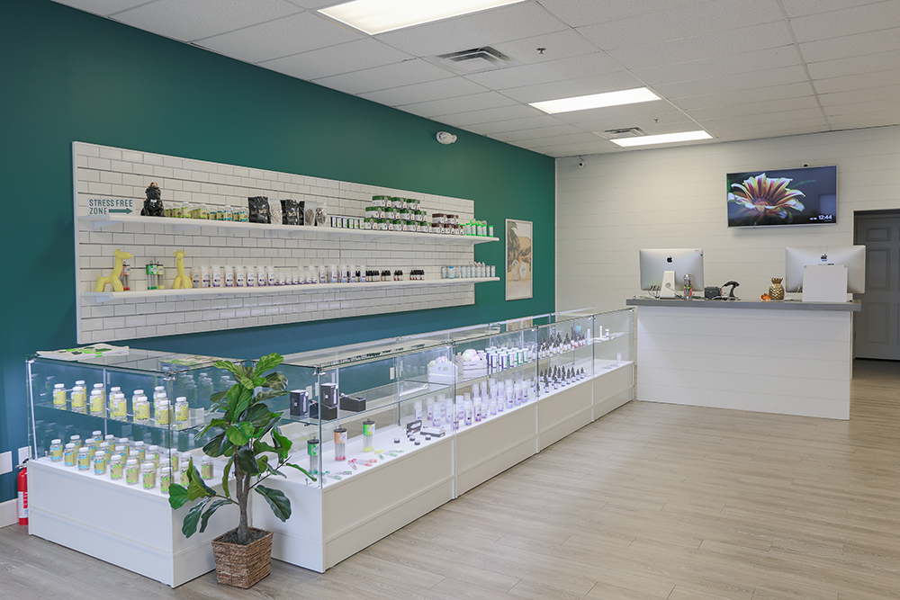 3040 S. Muskogee CBD Plus USA Store Interior