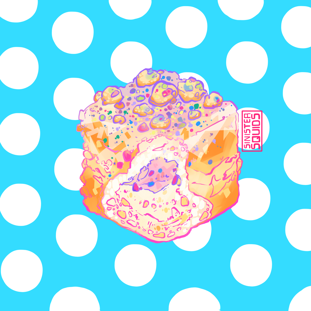 Birthday Doughnut |  Sticker Form