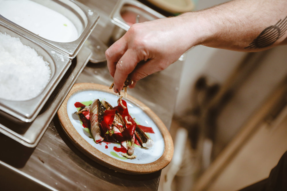 - Inspired by the Neo-Bistros of Paris, Black Radish serves inventive modern cooking in a relaxed yet elegant environment