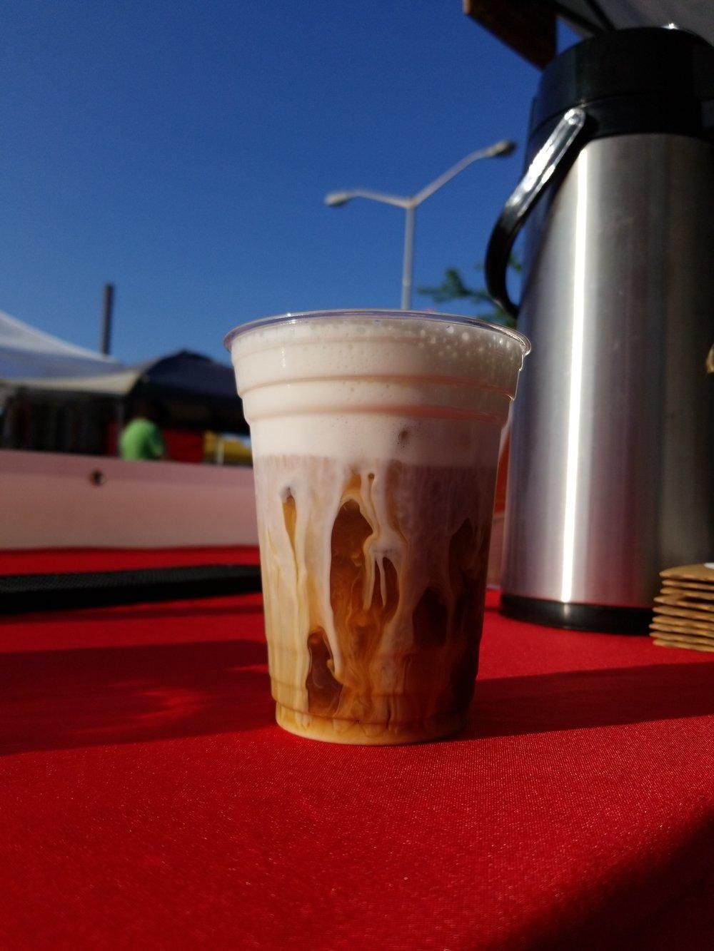 Cold Brew Latte - creamy goodness!
