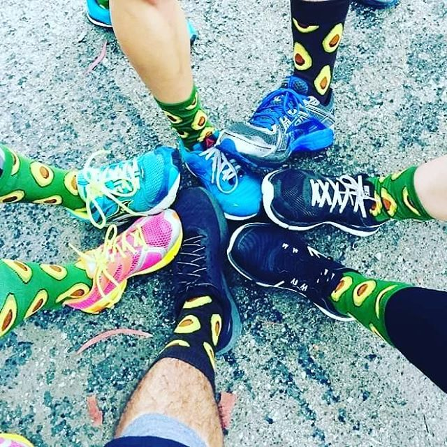 Team Concourse became Team Avocado Socks this past weekend and crushed a 5k, some tacos, and a bunch of beer! 💪  #tacosandbeer #activerecovery #teamconcoursecrossfit