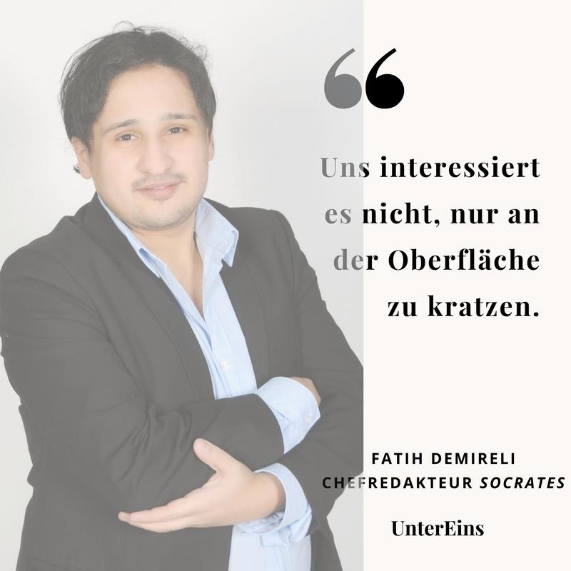 Fatih Demireli, Socrates Magazin