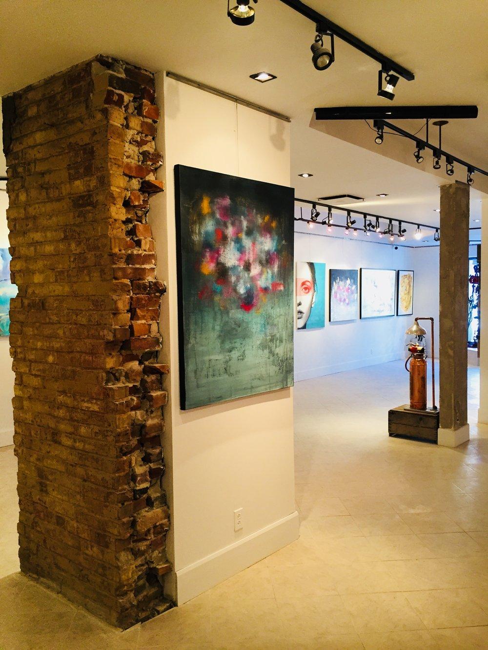#2 - Artiste: LouleeDimensions : 36 x 48 in.Médium :Acrylique sur toile