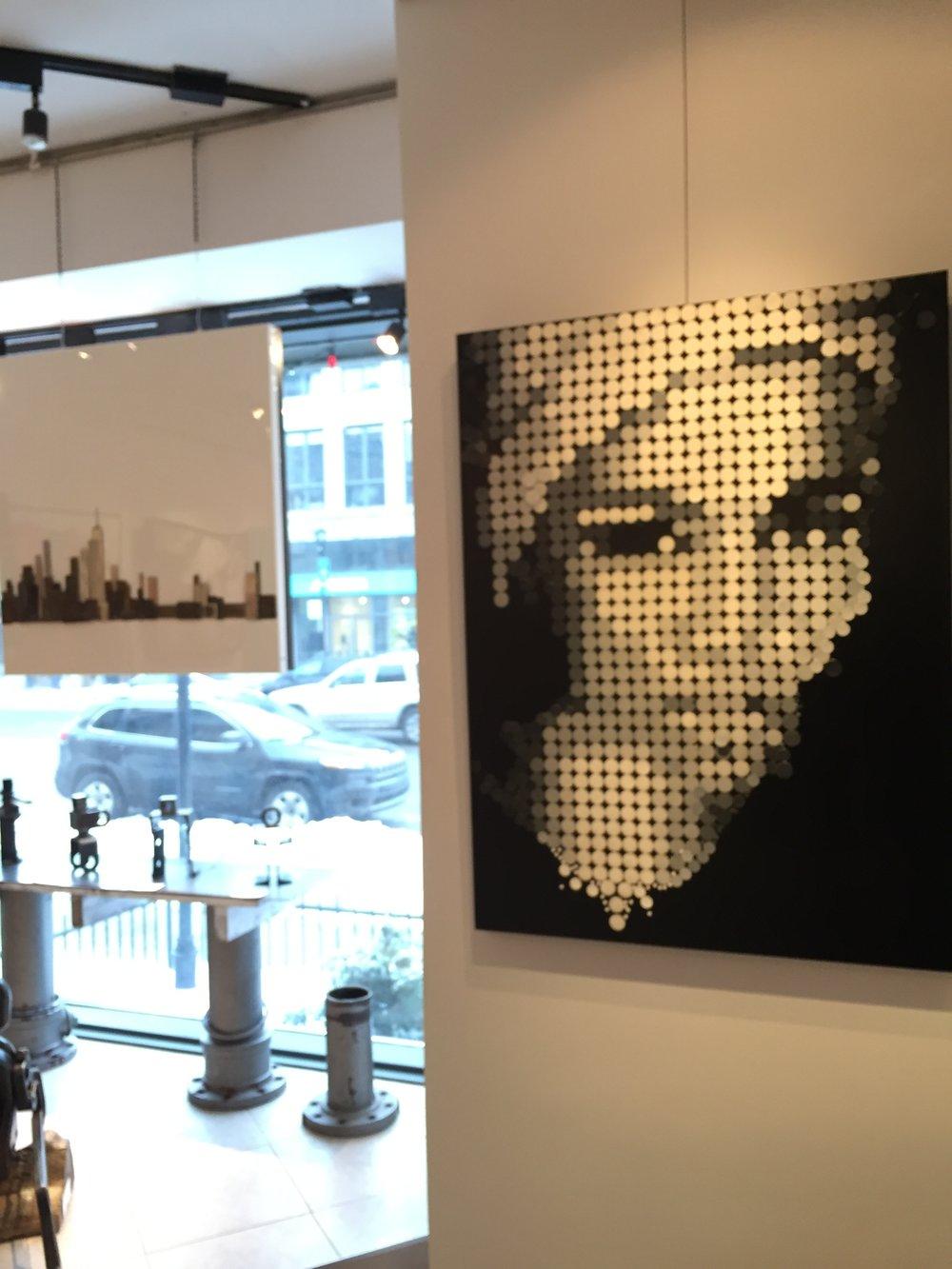 Osana - Artiste : Sylvie DagenaisDimensions : 40 x 30 in.Médium :Mixte médias