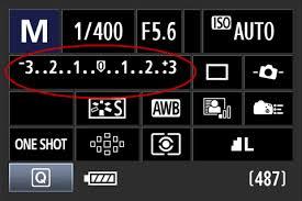 exposure manual settings