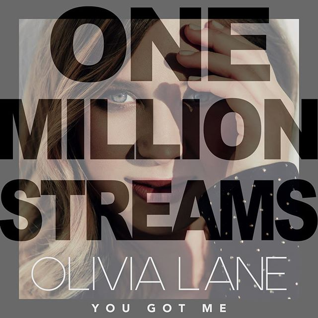 Olivia Lane hit one million streams today!! Huge congrats to her, the co-writers, and everyone who has continued to support this song. We couldn't be more proud! #yougotme
