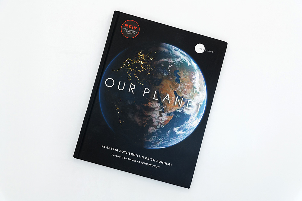 Cover of companion book to Netflix documentary Our Planet