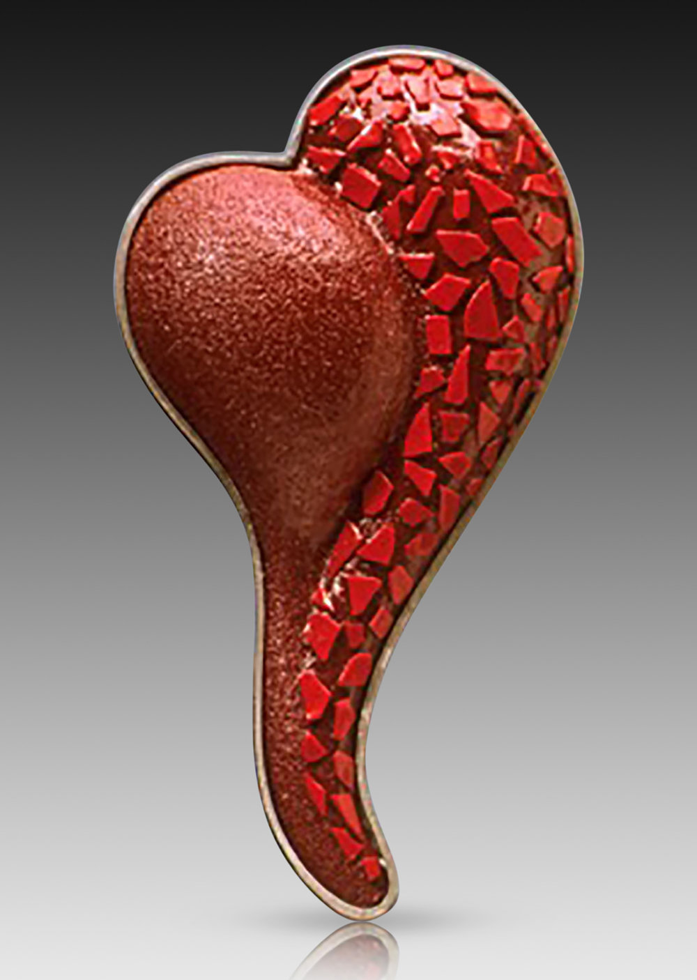 """Broken Heart"" Brooch"