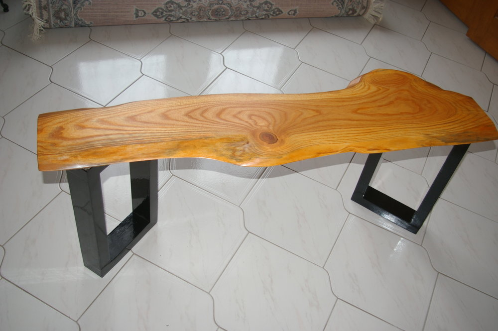 - Maple console table