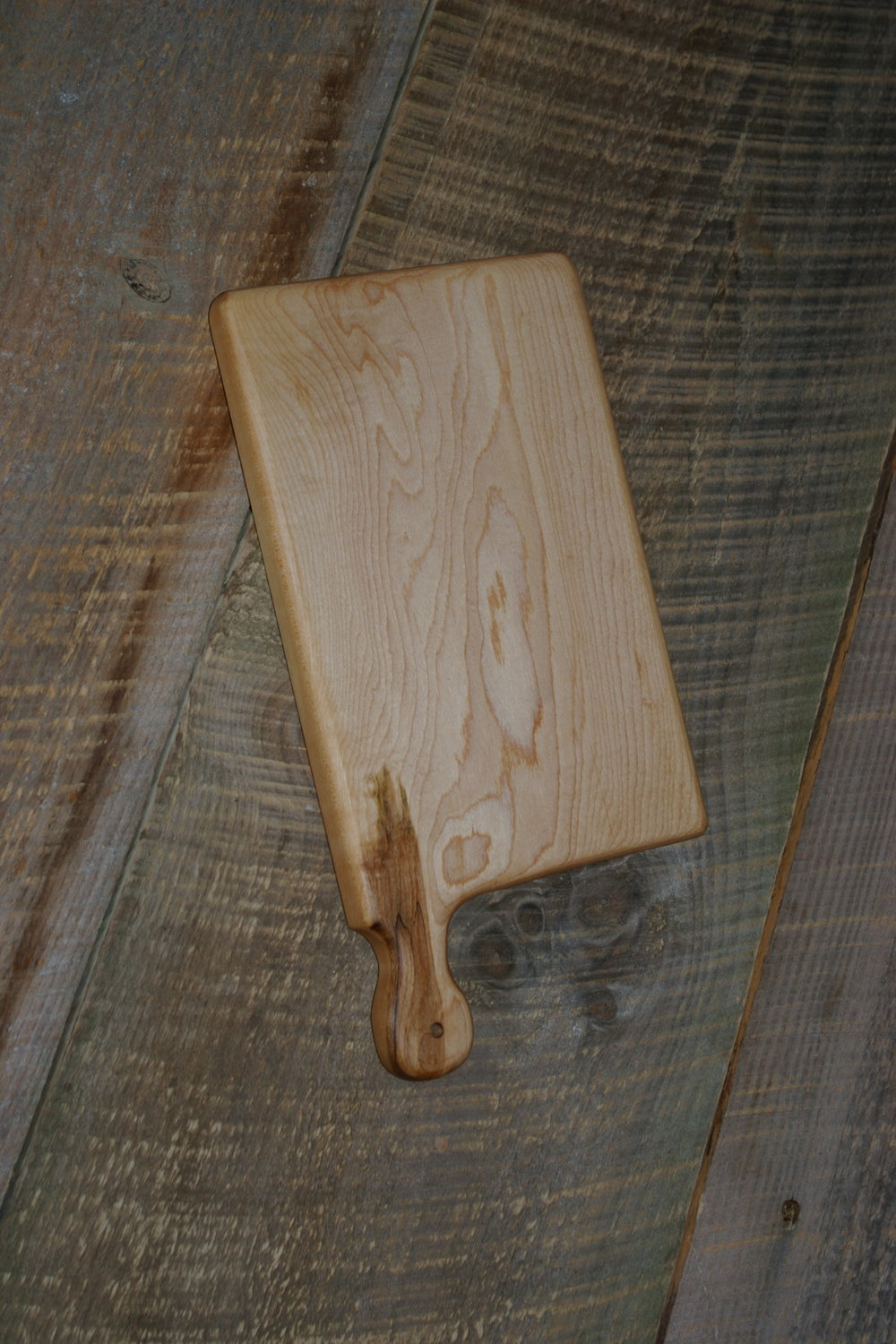 Small Maple Board reg $20 now $15 - #133 Hard maple wood cutting or serving board