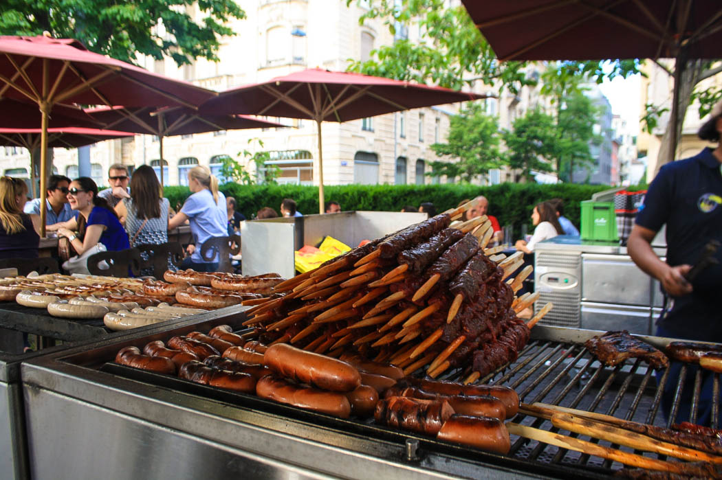 zurich-switzerland-bratwurst-summer