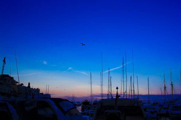 monaco_france_sunset