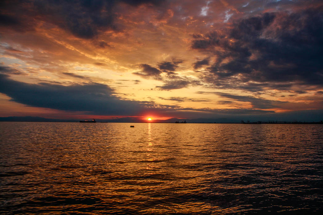 thessaloniki-greece-sunset