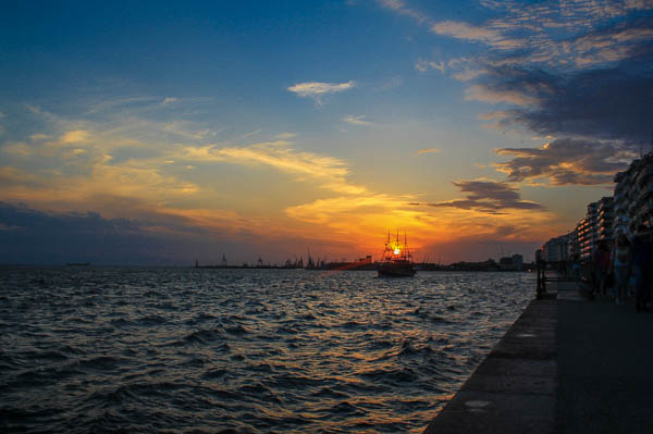 thessaloniki_greece_sunset
