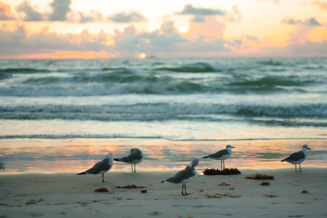 Sunrise in Cocoa Beach, Florida