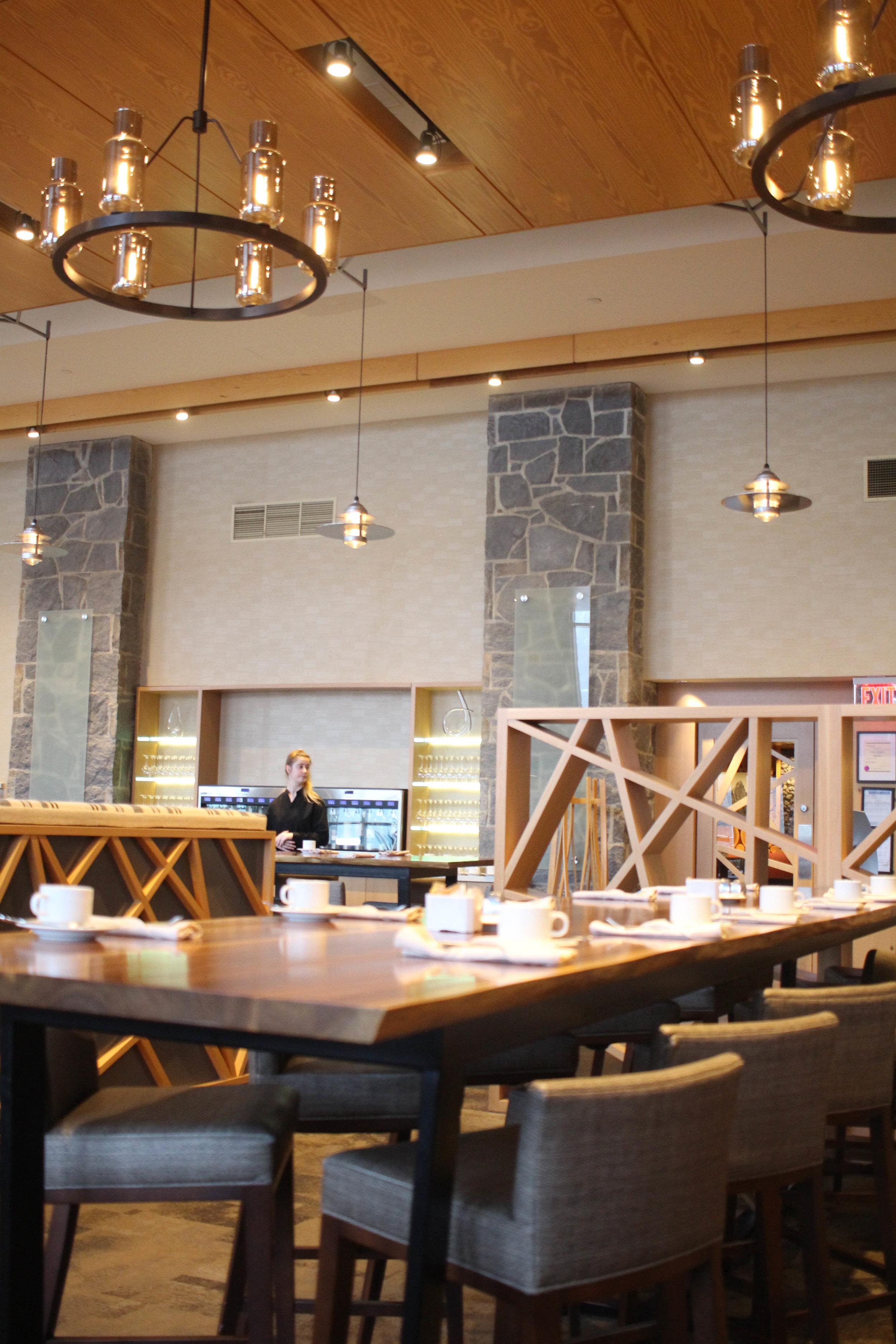Restaurant the Westin in Whistler
