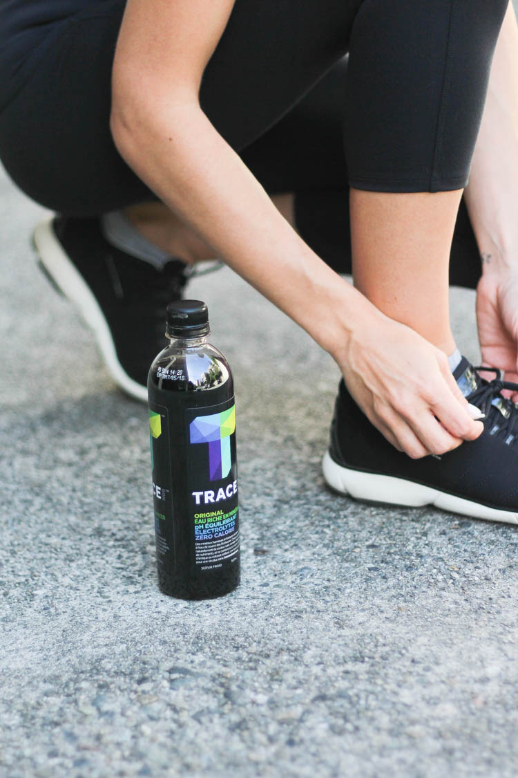 RYU active wear on Vancouver blogger trace black water