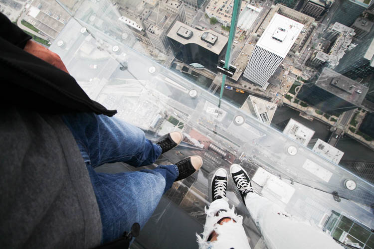 Skydeck at Sears Tower Chicago