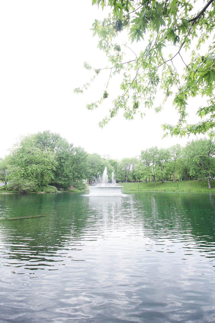 La Fontaine Park in Montreal