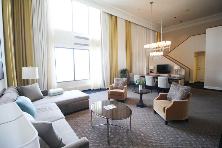 Presidential Suite at the Omni Mont Royal in Montreal