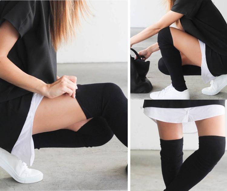 Knee high socks by Mondor