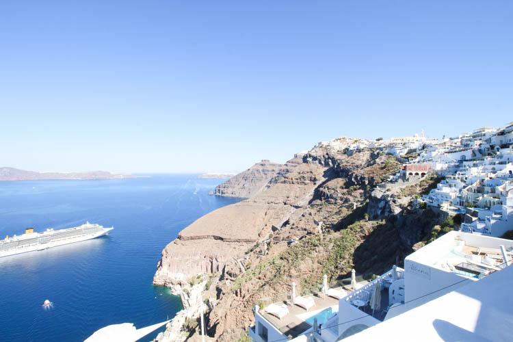 View in Santorini