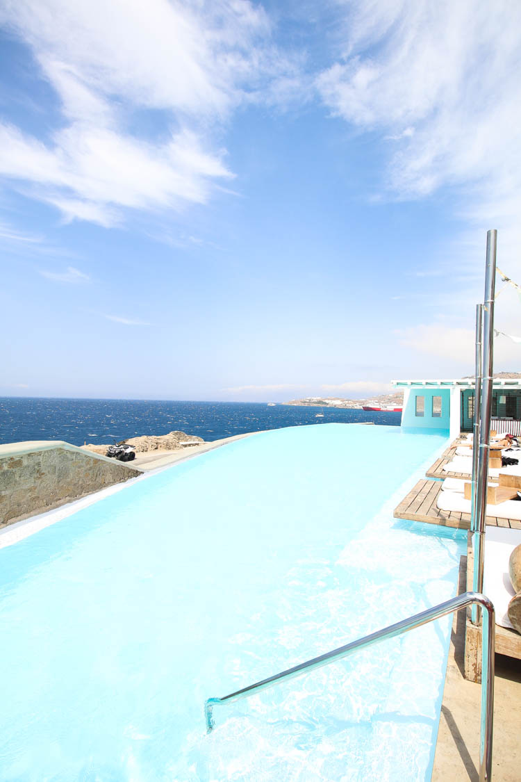 pool at cavotagoo mykonos