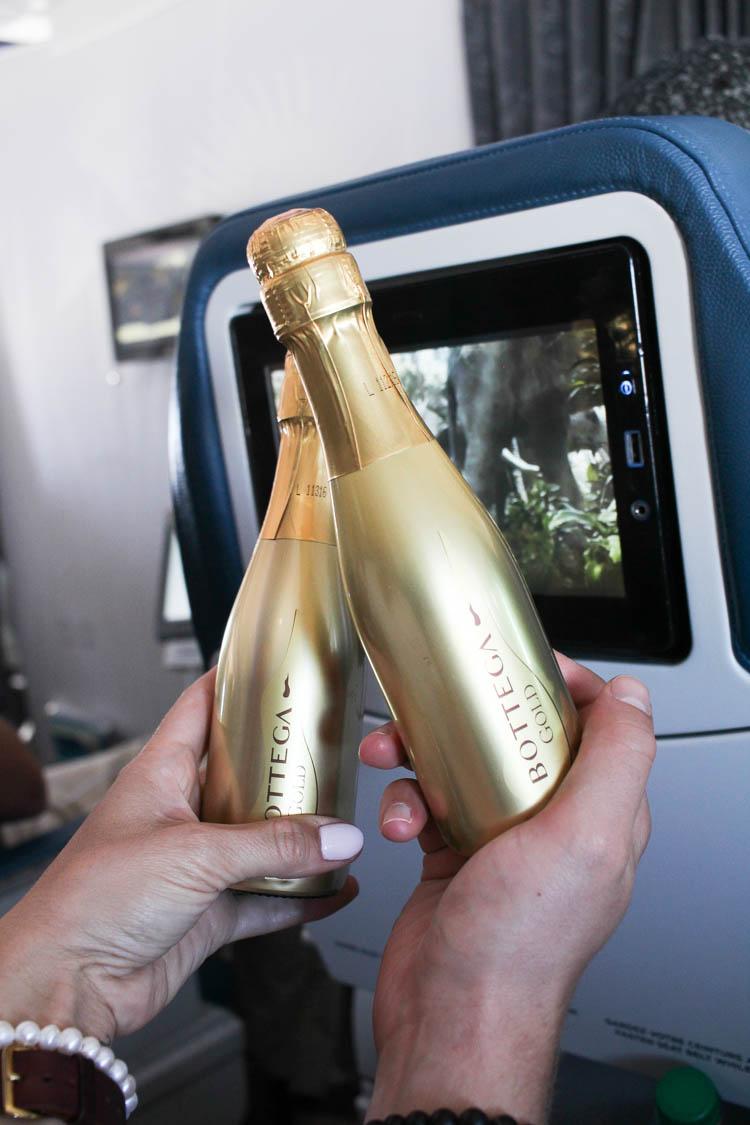 Air transat champagne to Paris