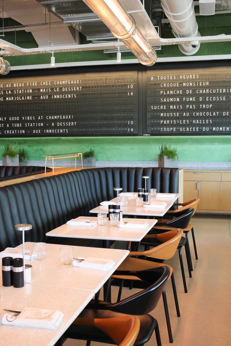 Champeaux Restaurant Paris