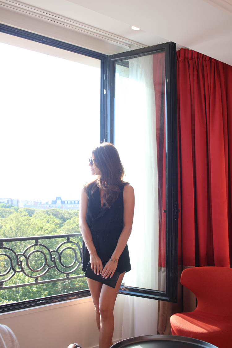 At the Terrass Hotel in Paris