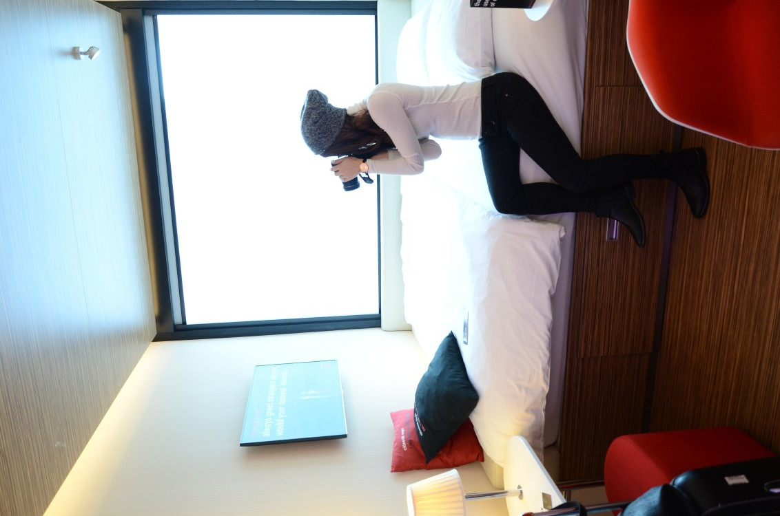 review of CitizenM Hotel in NYC