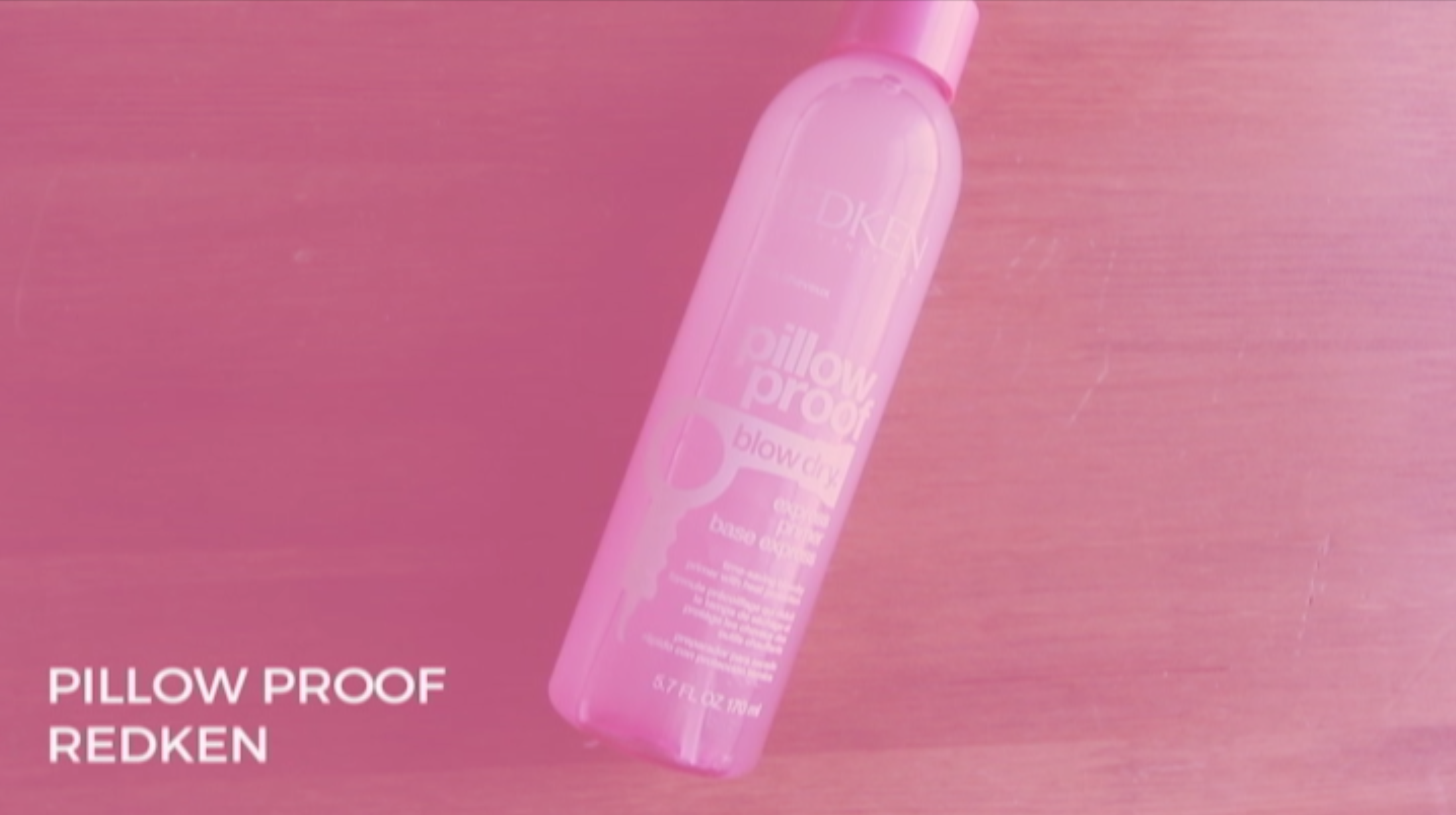 Pillow Proof thermal protectant by Redken