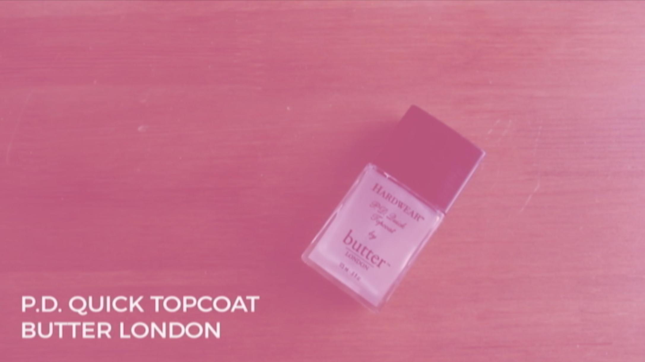 Butter London Topcoat