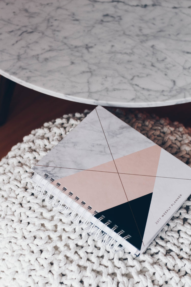 Marble design love planner
