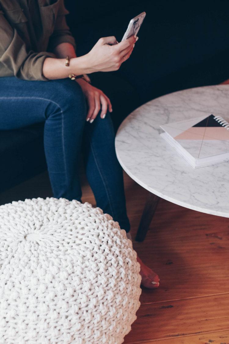 Marble Article Mara Coffee Table