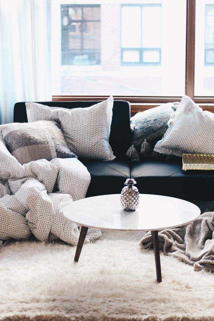 Fireplace at home with homesense decor