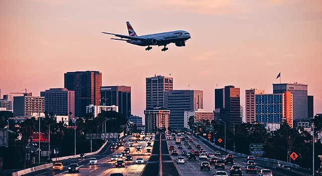 landing at SAN san diego