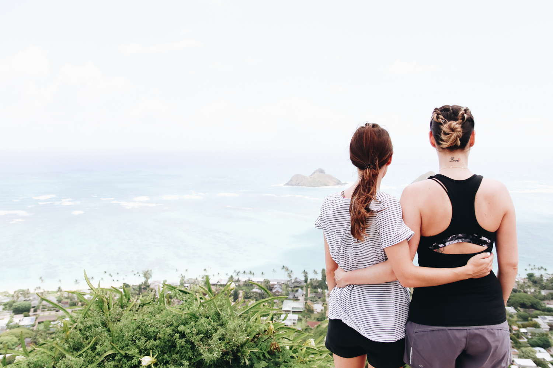 Lanikai Pillbox Hiking Trail Oahu